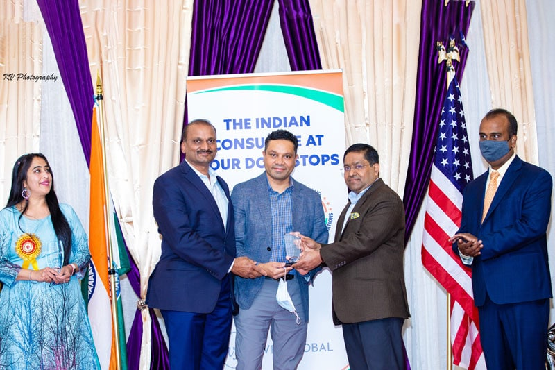 TEAM Aid Receives Unsung Hero Award from Federation of Indian Associations.